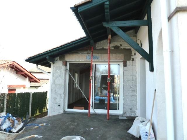 extension maison individuelle à Ascain