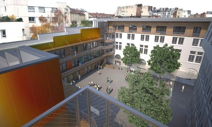 architecte etablissement scolaire