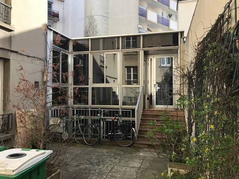 façade bureau avant rénovation